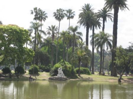 Parque 3 Febrero, Palermo