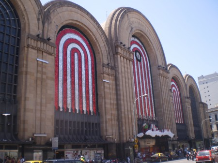Shopping de Abasto, ready for Christmas