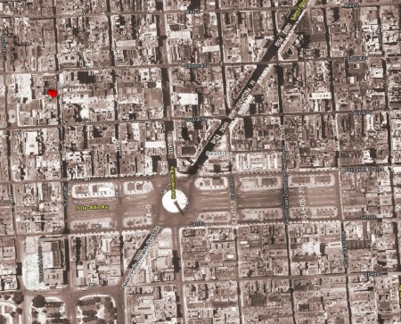 Avendia 9 de Julio in 1940