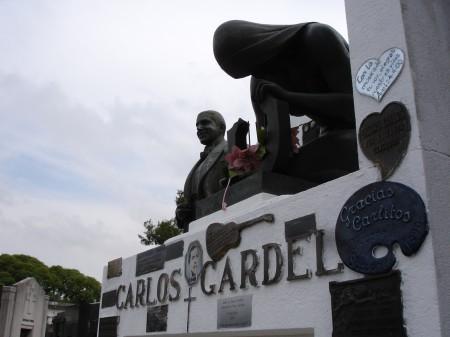 Carlos Gardel's Tomb, Chacarita Cemetery