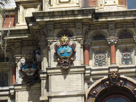 Buenos Aires Coat of Arms, Palacio de Aguas Corrientes