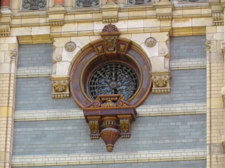 Window Detail, Palacio de Aguas Corrientes
