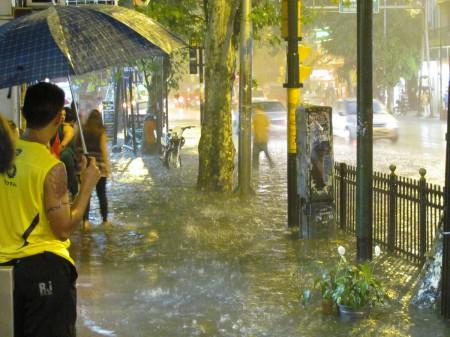 Rain Storm, Buenos Aires