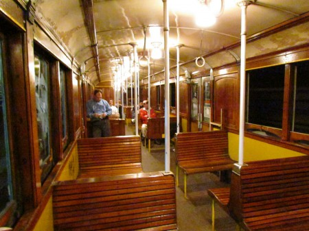 Carriage Interior, Subte Line A