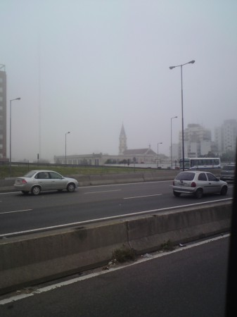 A foggy morning in Liniers