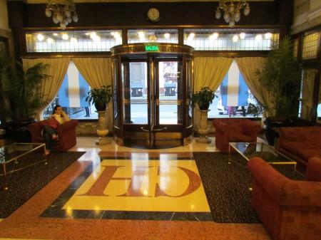 Castelar Hotel entrance