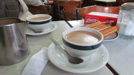 Chocolate y Churros, La Giralda