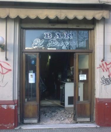 El Progreso, Barracas