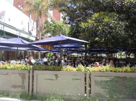 The terrace, La Biela
